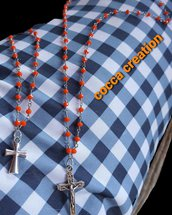 Collana e braccialetto rosario