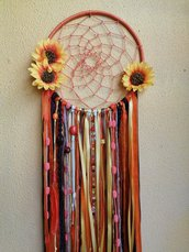 Acchiappasogni fiori di girasole