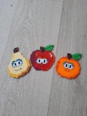 Frutta simpatica sottobicchiere