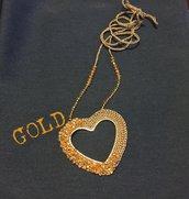 Collana Cuore dorato