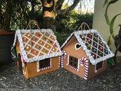 Gingerbread House di feltro, porta panettone