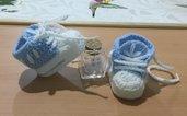 Scarpine  neonato uncinetto crochet tennis adidas