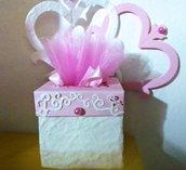 Bomboniera matrimonio scatole porta confetti