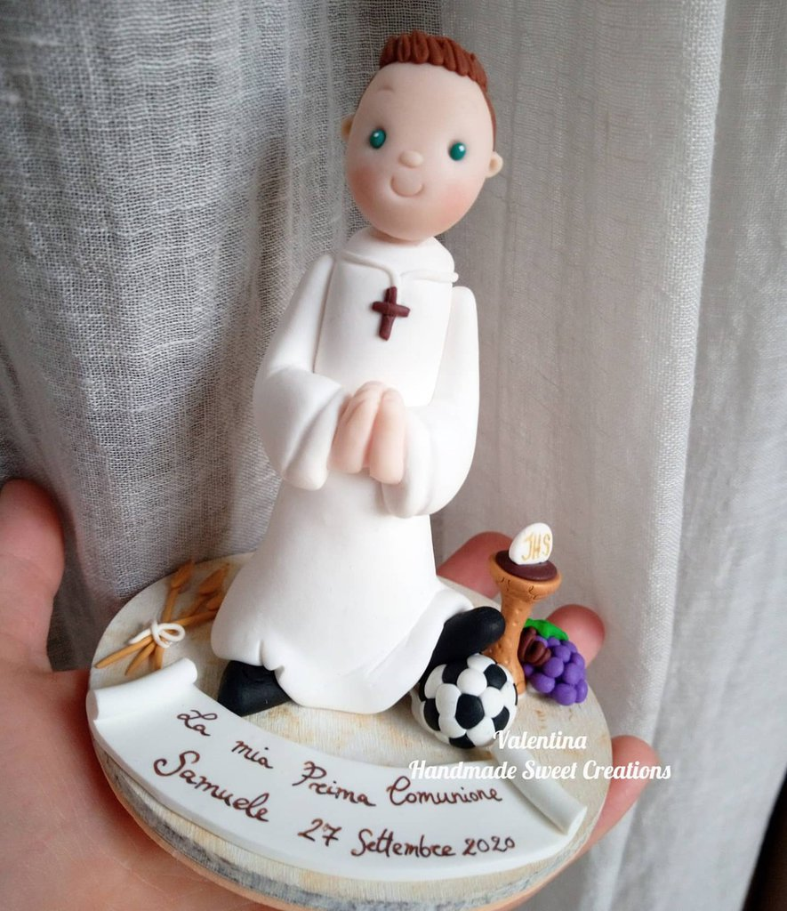 Top cake Comunione calcio