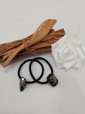 Elastici capelli fiori elastici donna accessori capelli fatti a mano accessori donna capelli