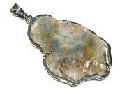 ciondolo minerale agata MEXICAN DRUZY AGATE