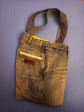 DENIM BAG By APECUCE