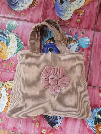Borsa color sabbia, bennibag rosa rosa, fashion