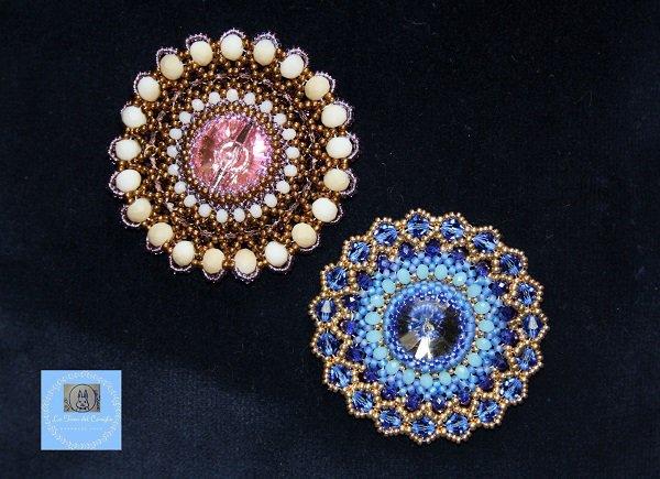 Ciondoli Romantic con perline