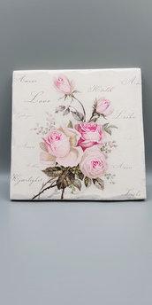 quadretto con rose