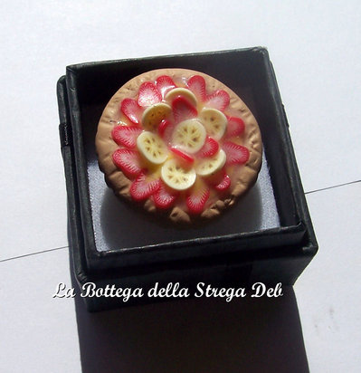 Anello crostata di frutta