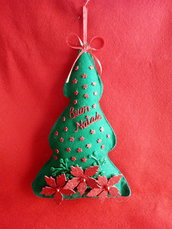 Fuoriporta/ghirlanda albero di Natale