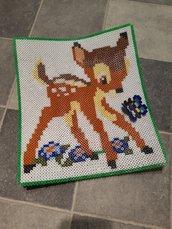 Centrotavola Bambi con farfalla 3d