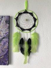Acchiappasogni verde fluo e nero