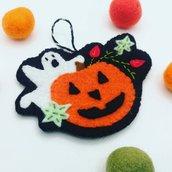 Halloween - decorazioni vintage in pannolenci