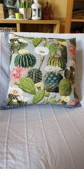 Federa stampa cactus