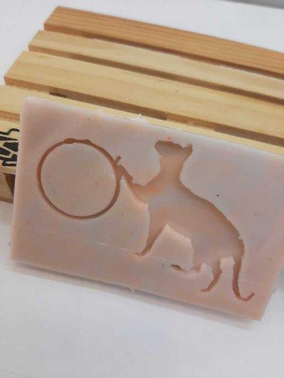 Stampo in gomma siliconica con gattino e bezel