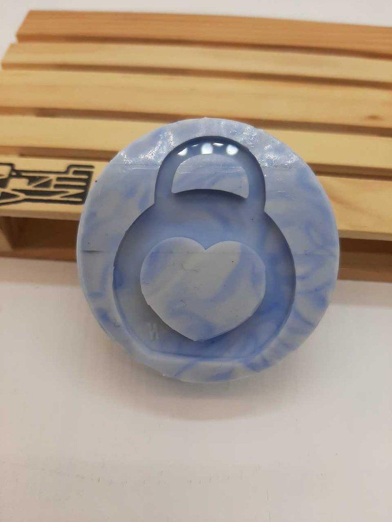 Stampo in gomma siliconica con kettleball