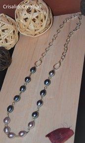 Collana con perle di maiorca