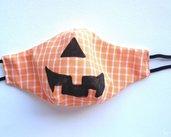 Mascherina Halloween per adulti L uomini • Mascherina zucca di Halloween