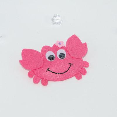 Il granchio rosa, 6 cm x 9.5 cm