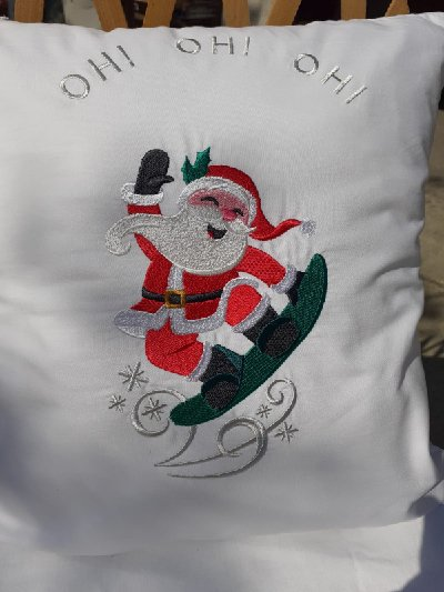 Babbo Natale cuscino