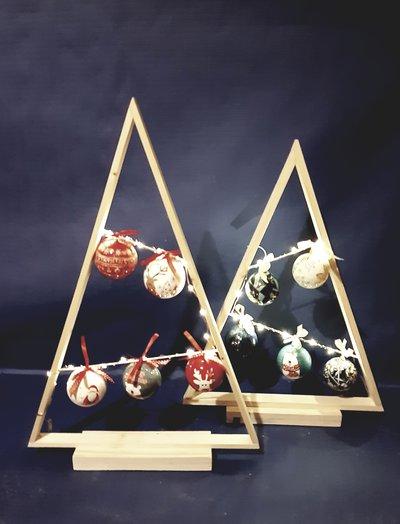 Alberi di Natale in Legno Stilizzati