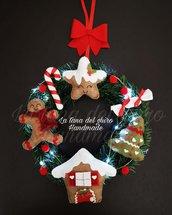 Ghirlanda natalizia-fuoriporta personalizzato.