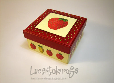 Scatolina fragola/ Strawberry box