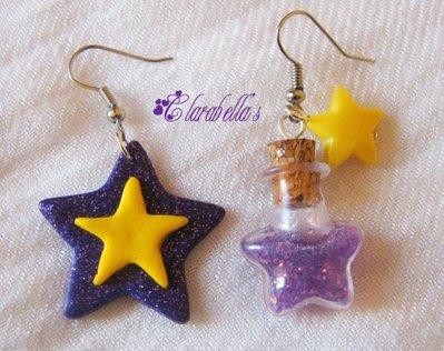 """Orecchini fimo """"STAR"""""""