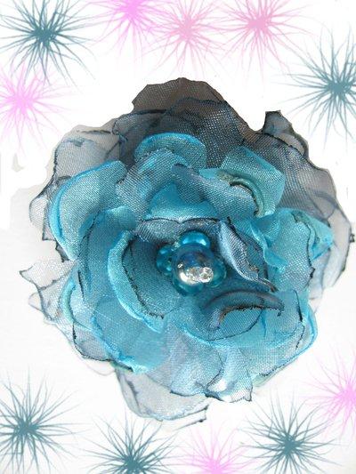 Fiore in organza