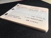 """_Block notes """"Biglietto treno""""_"""