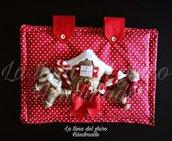 Copriforno personalizzato tema natalizio.