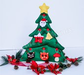 Albero di Natale montessoriano per bambini