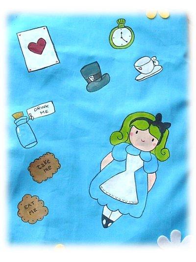 Borsa Alice nel paese delle meraviglie- Bag