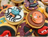 Halloween Decorations for cookies and cupcakes 2D