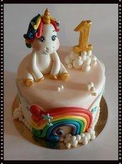 *Cake Topper Unicorno*