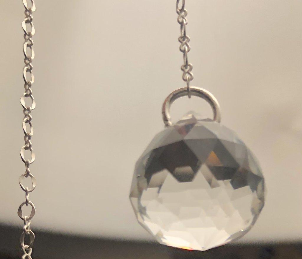 colore in cristallo Pendolo in corniola terra