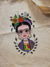 Shopper Bag Frida Kahlo