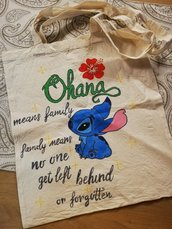 "Shopper Bag Stitch ""Ohana"""