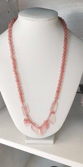 collana rosa antico charoite pietra