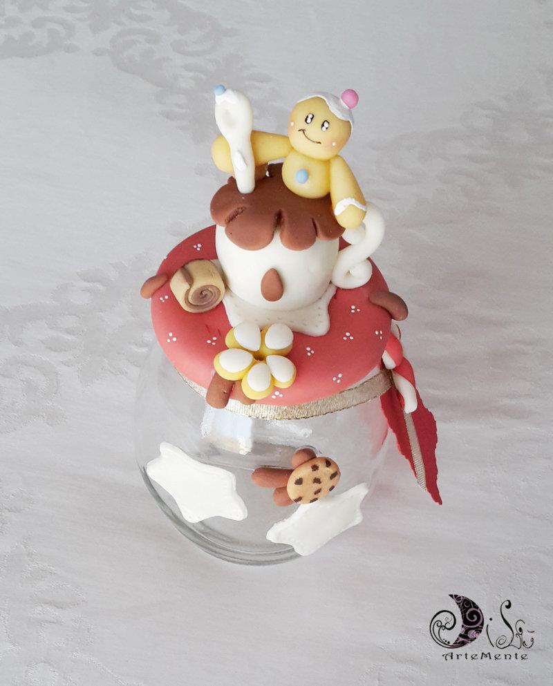 Porta caramelle barattolo idee regalo natale dolcezza ...
