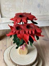 Stella di Natale in legno by Creazioni GiaRóⒸ