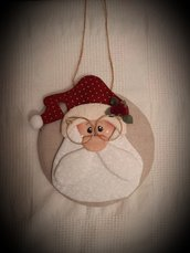 Medaglione Babbo Natale