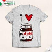 T-shirt Donna I love Nutella