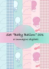 """Set """"Baby Ballon"""" 001"""