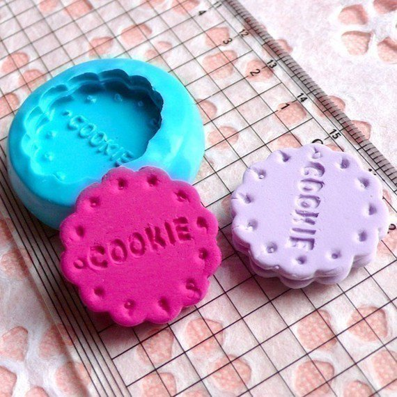 Stampo fimo cookie tondo