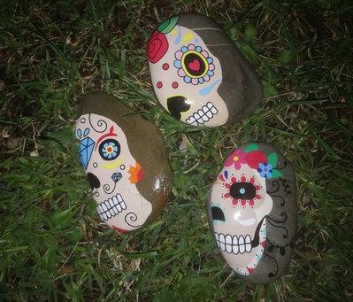 Sassi Dias de los muertos (teschi)