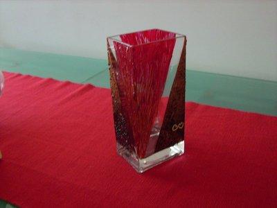 Vaso con tonalità calde