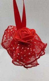 pallina rosa rossa